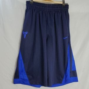 Mens nike blue basketball shorts blue